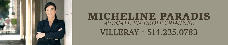 Micheline Paradis Avocate