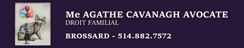 Agathe Cavanagh Avocate - Droit familial et Médiation