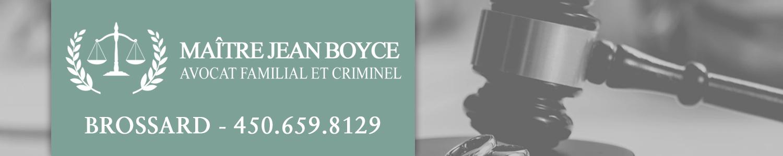 Jean Boyce Avocat