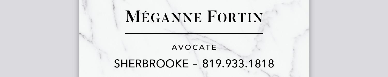 Méganne Fortin, avocate en droit de la famille et de la jeunesse