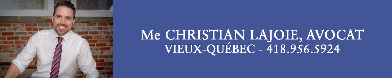 Christian Lajoie Avocat