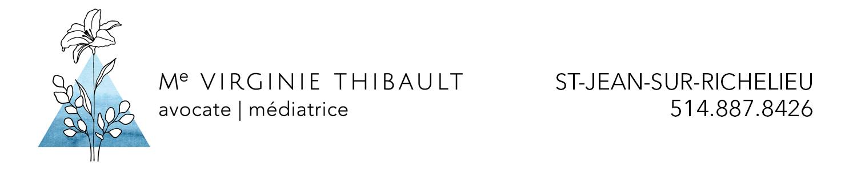 Virginie Thibault avocate et médiatrice familiale