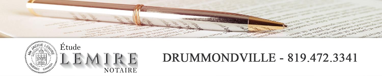 Notaire Jackie Lemire - Drummondville